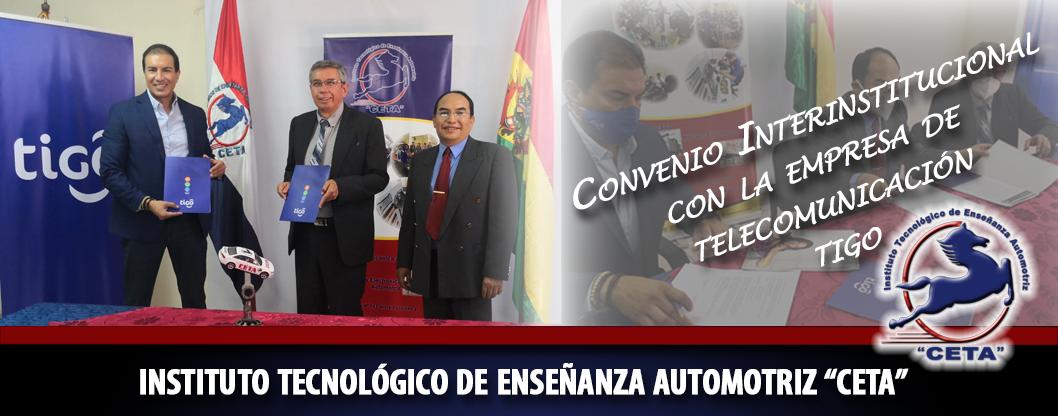 Convenio con la empresa de telecomunicación TIGO